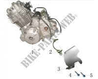 MOTOR para Mash FIVE HUNDRED MOTEUR GRIS 400 2018