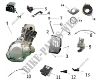 MOTOR PARTES para Mash TWO FIFTY EURO 4 250 2017